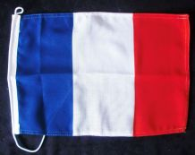 NAUTICAL FLAG : FRANCE 30cm x 20cm